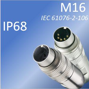 M16 cablare IP68