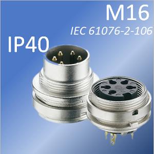 M16 pannello IP 40