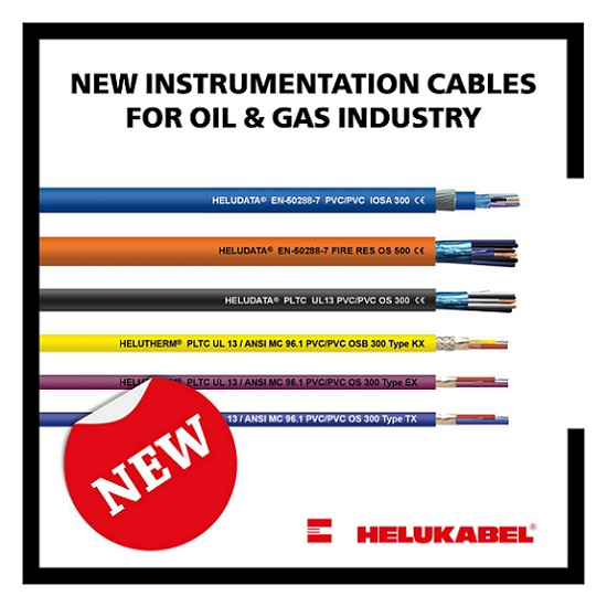 Instrumentation Cables for Oil & Gas